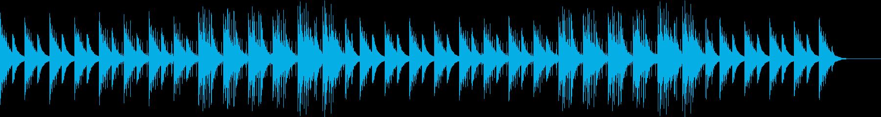 アコギが奏でるヒーリング系BGMの再生済みの波形