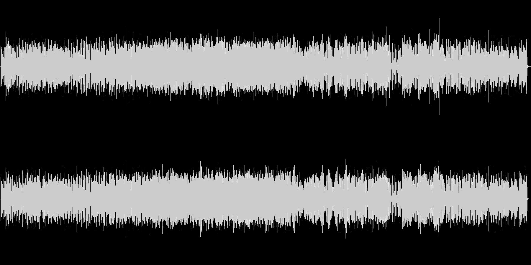 軽快なジャズ ピアノトリオの未再生の波形