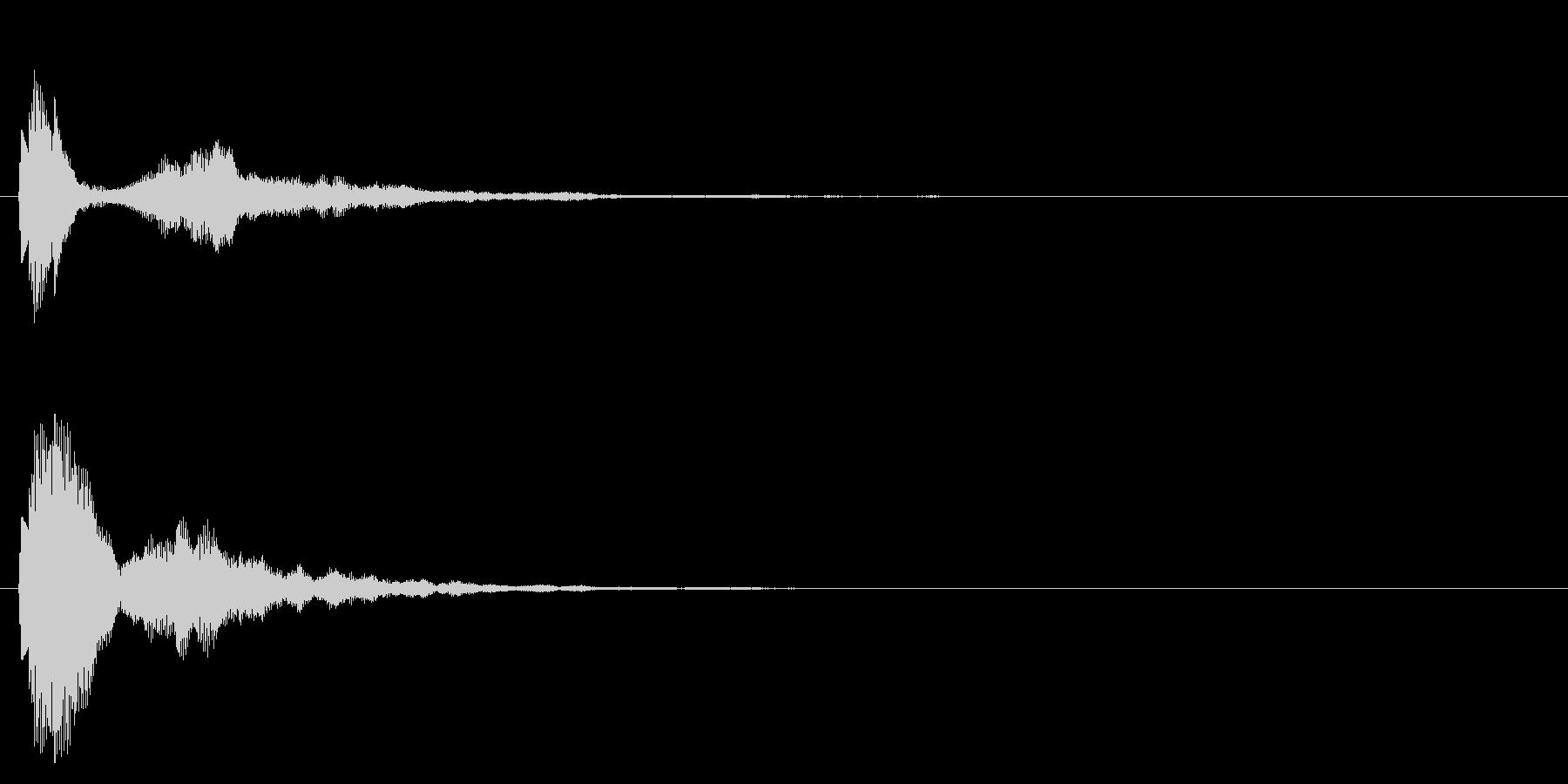 チュピン、ポワン、発見、アイテムゲットの未再生の波形