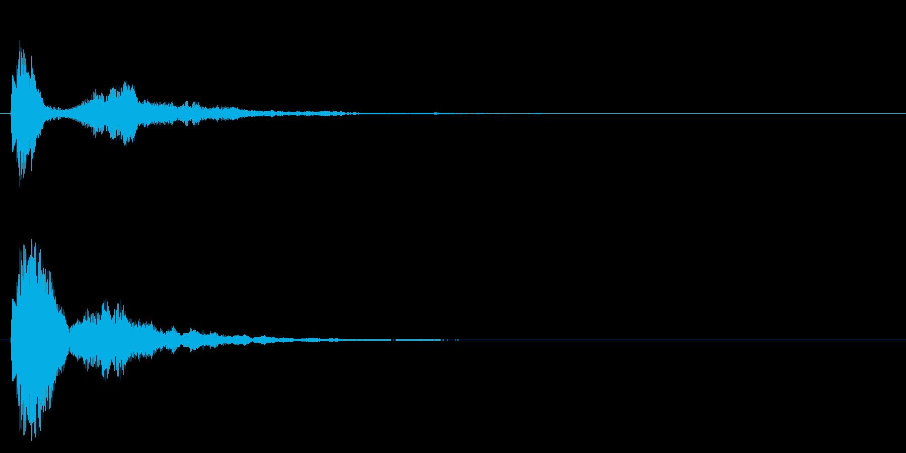 チュピン、ポワン、発見、アイテムゲットの再生済みの波形