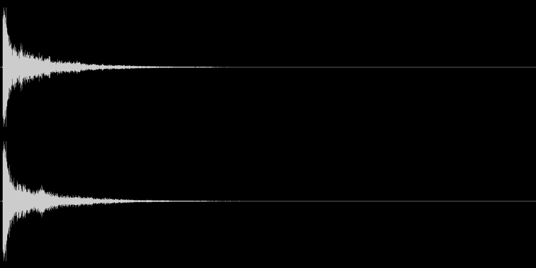 タッチ カーン-3の未再生の波形