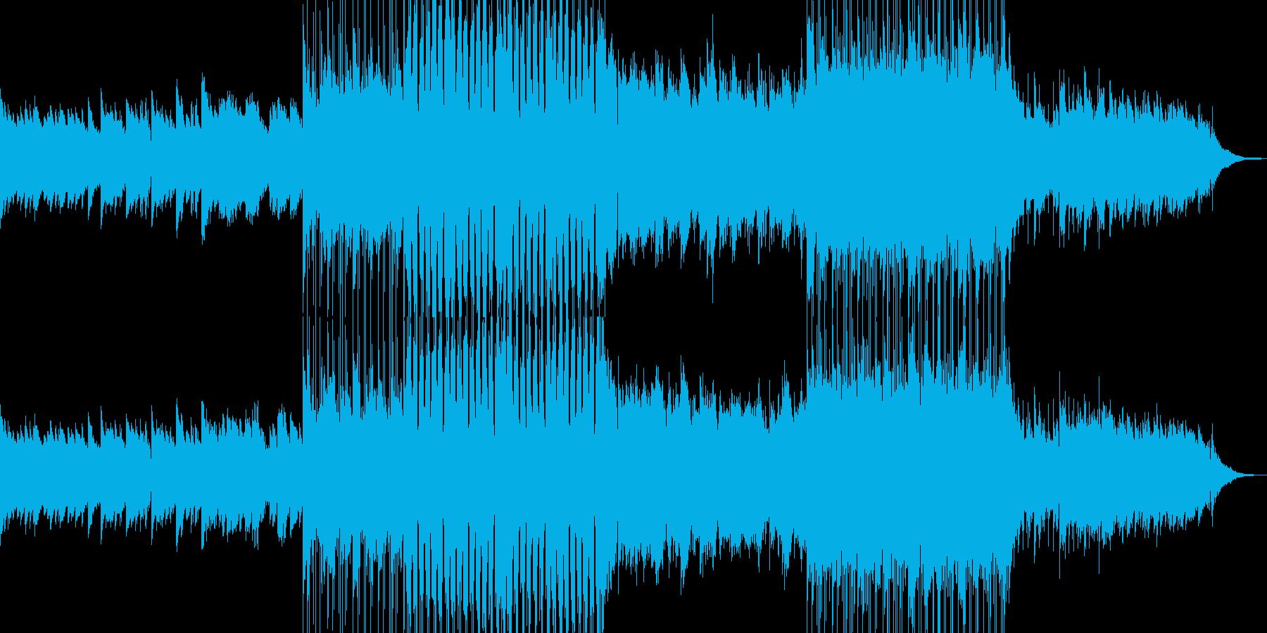 優しげで暖かなバラードの再生済みの波形