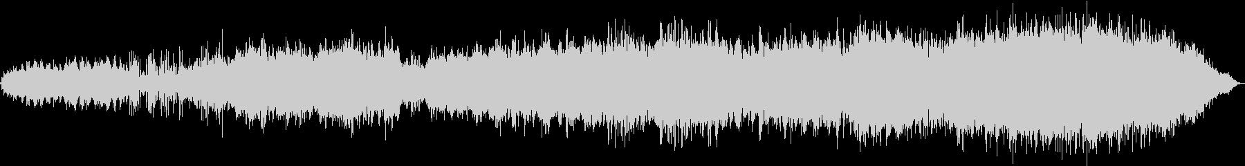 東洋的な雰囲気のBGMの未再生の波形