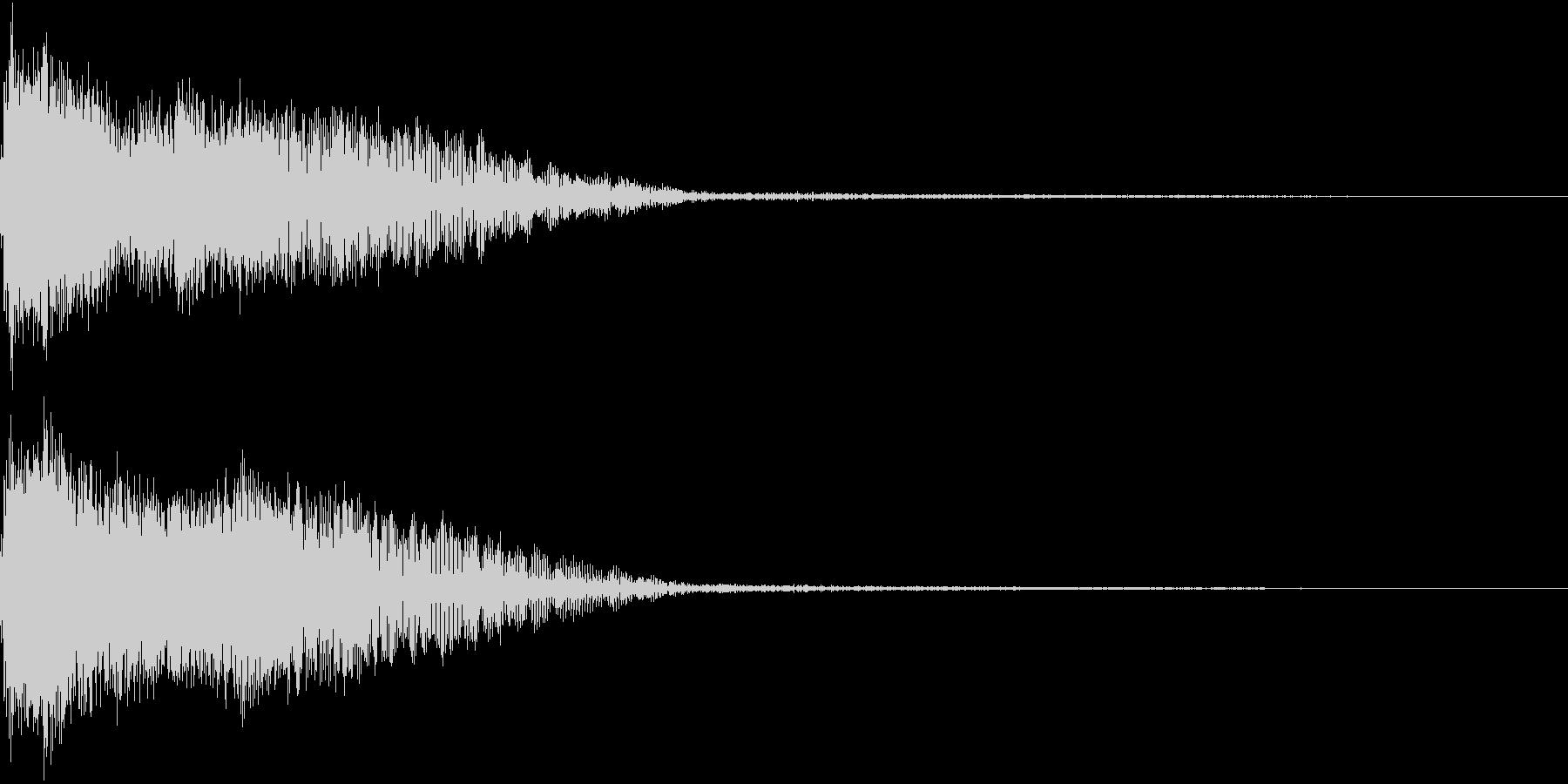 InvaderBuzz 発砲音 3の未再生の波形