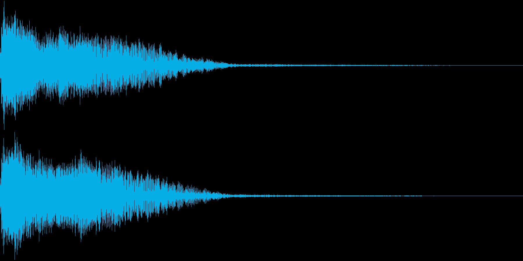 InvaderBuzz 発砲音 3の再生済みの波形