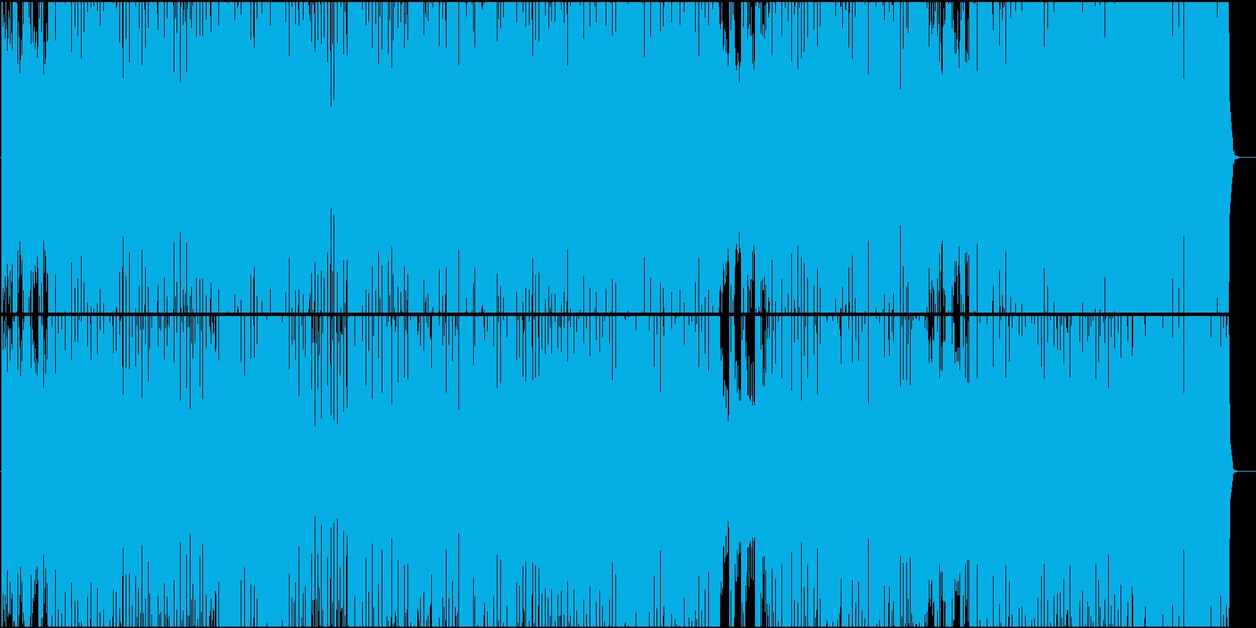 ブルース色が強い軽快なカントリー楽曲の再生済みの波形