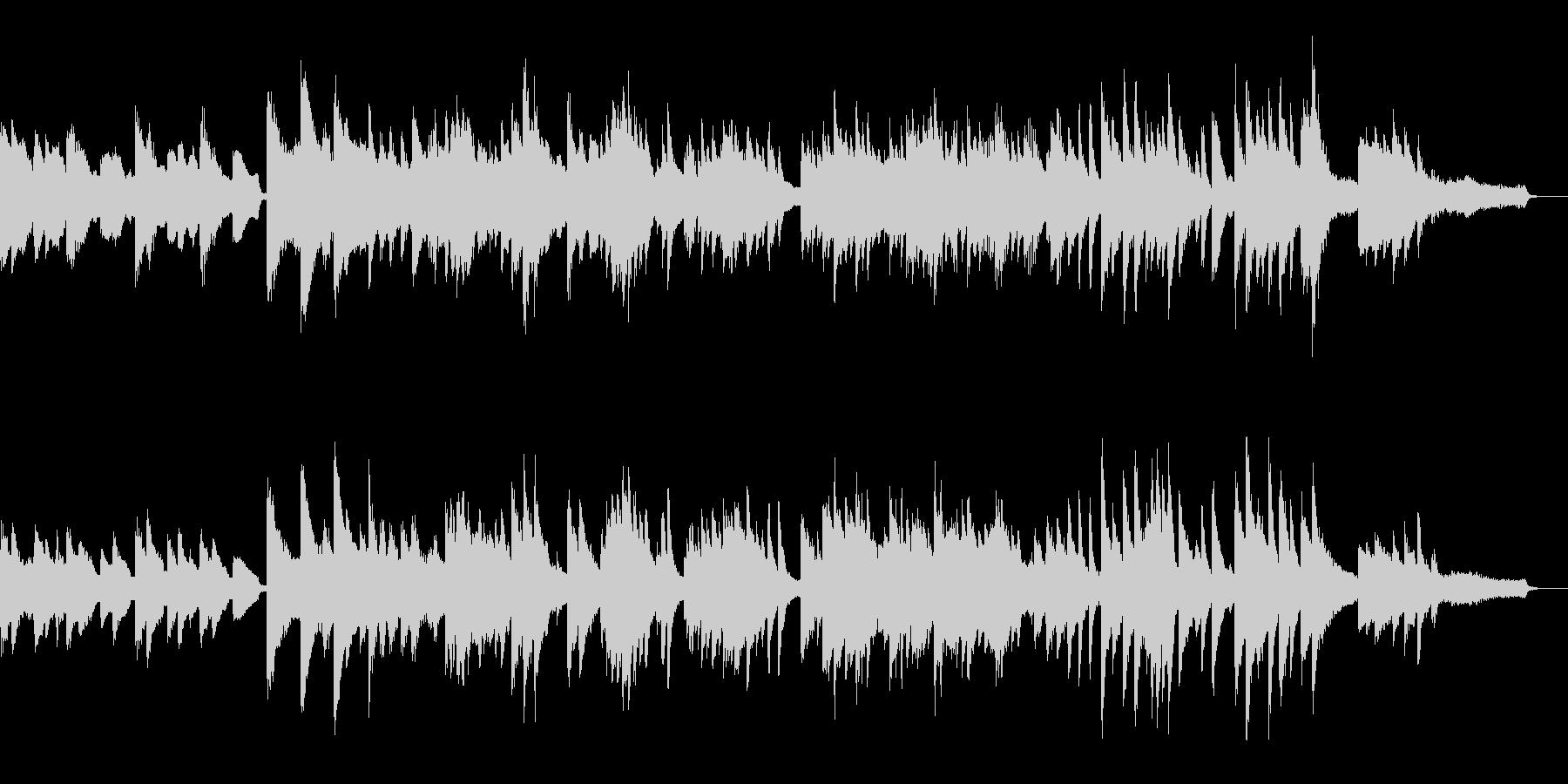 ジャズスタンダード テーマ ピアノ生演奏の未再生の波形