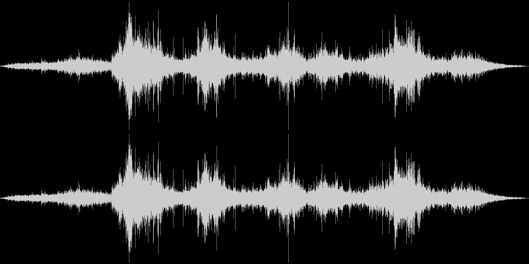 波の音。その1の未再生の波形
