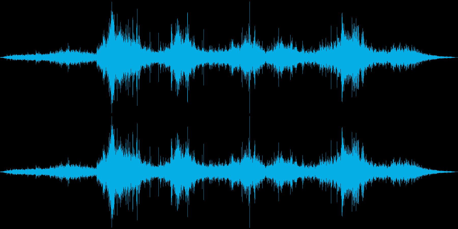 波の音。その1の再生済みの波形
