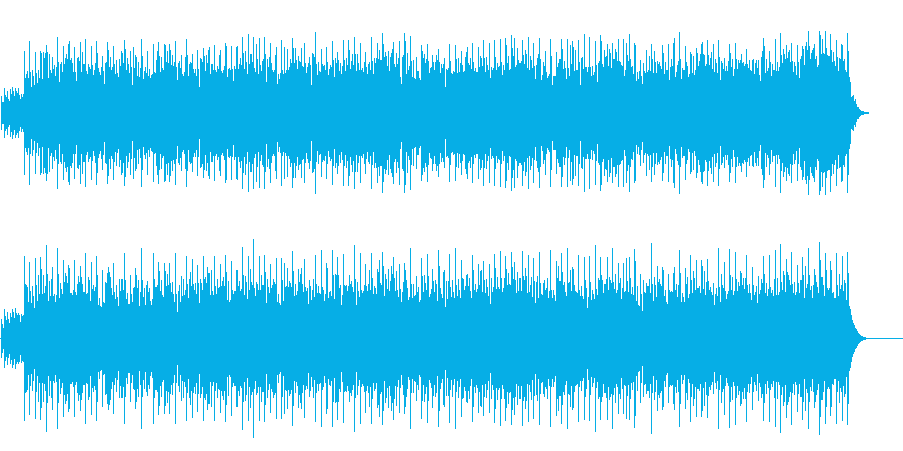 クリスマスの可憐なオルゴール風の再生済みの波形