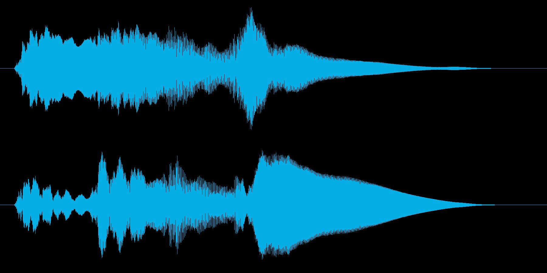 チャイム アナウンス06-6の再生済みの波形