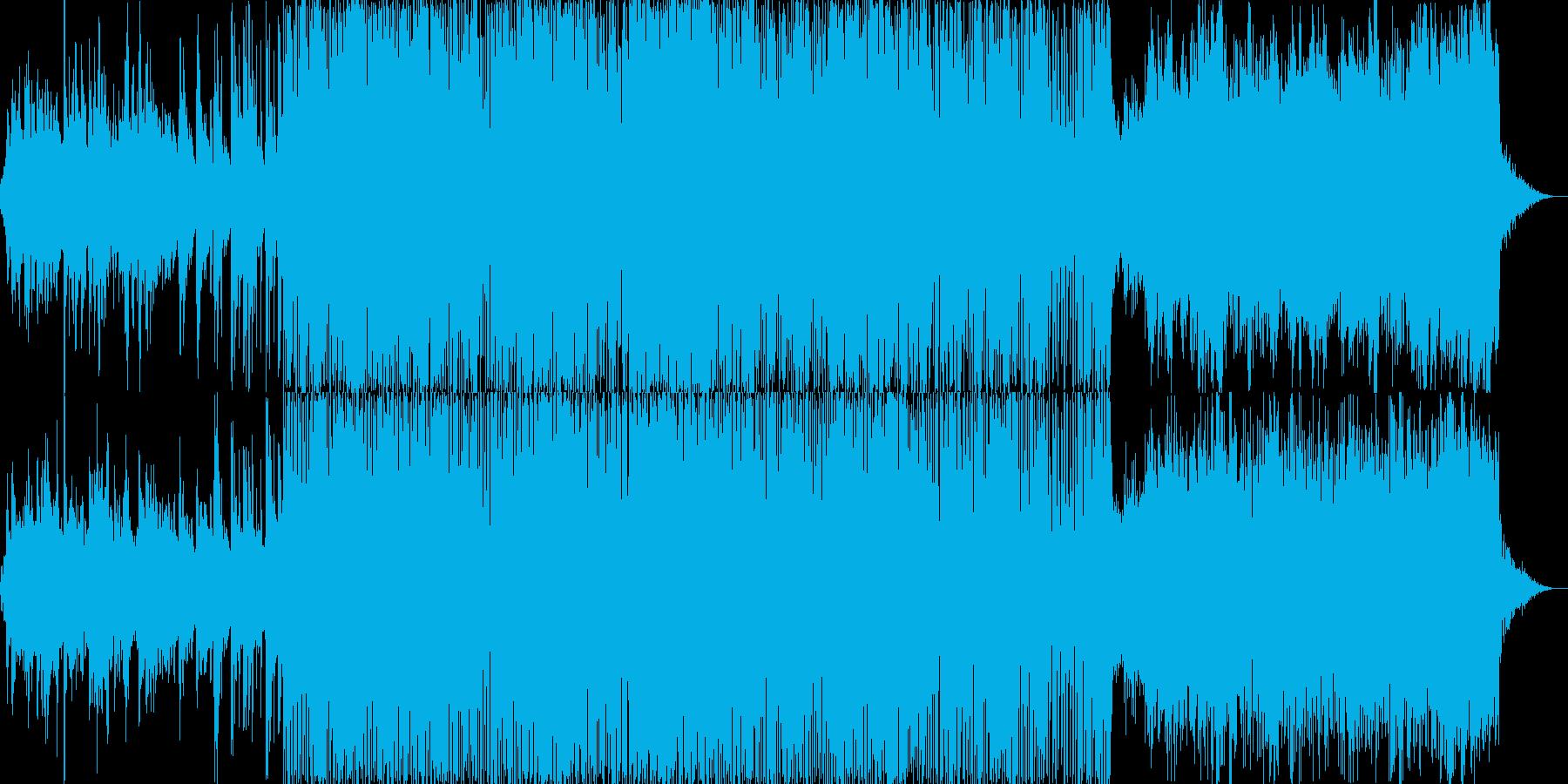 メロウ・アコースティックなチルアウト・…の再生済みの波形