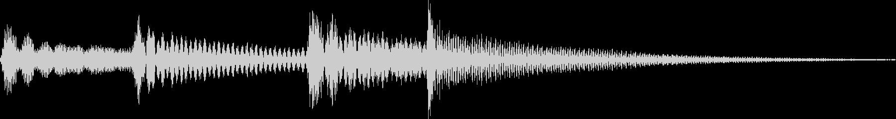 コロロン(決定、ボタン、成功)の未再生の波形