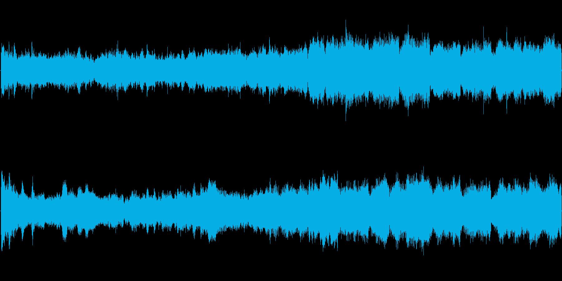 オーケストラオープニングファンタジーの再生済みの波形