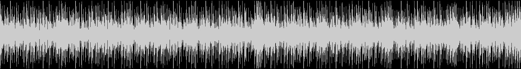 テクノループ(メニュー画面・クイズ)の未再生の波形