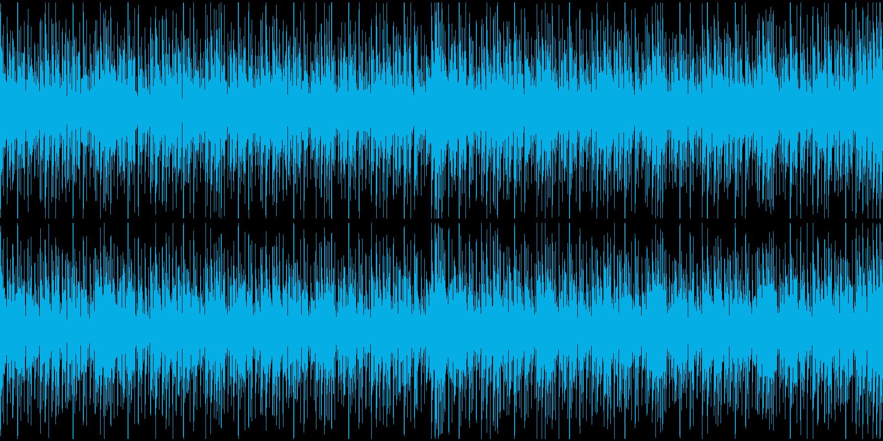 テクノループ(メニュー画面・クイズ)の再生済みの波形