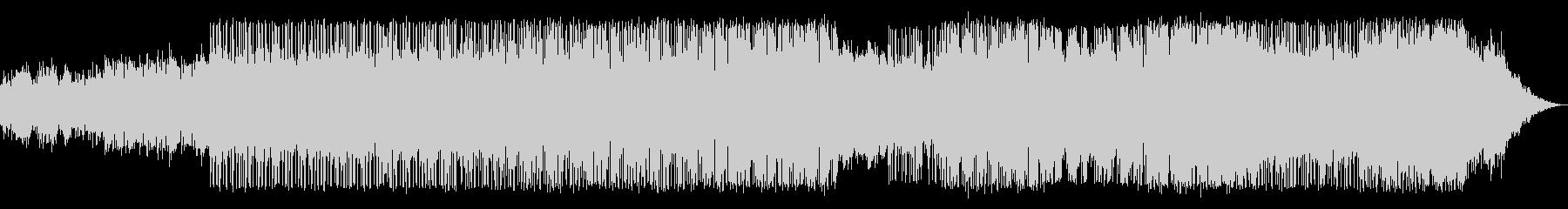 ホラーなアンビエントの電子音楽の未再生の波形