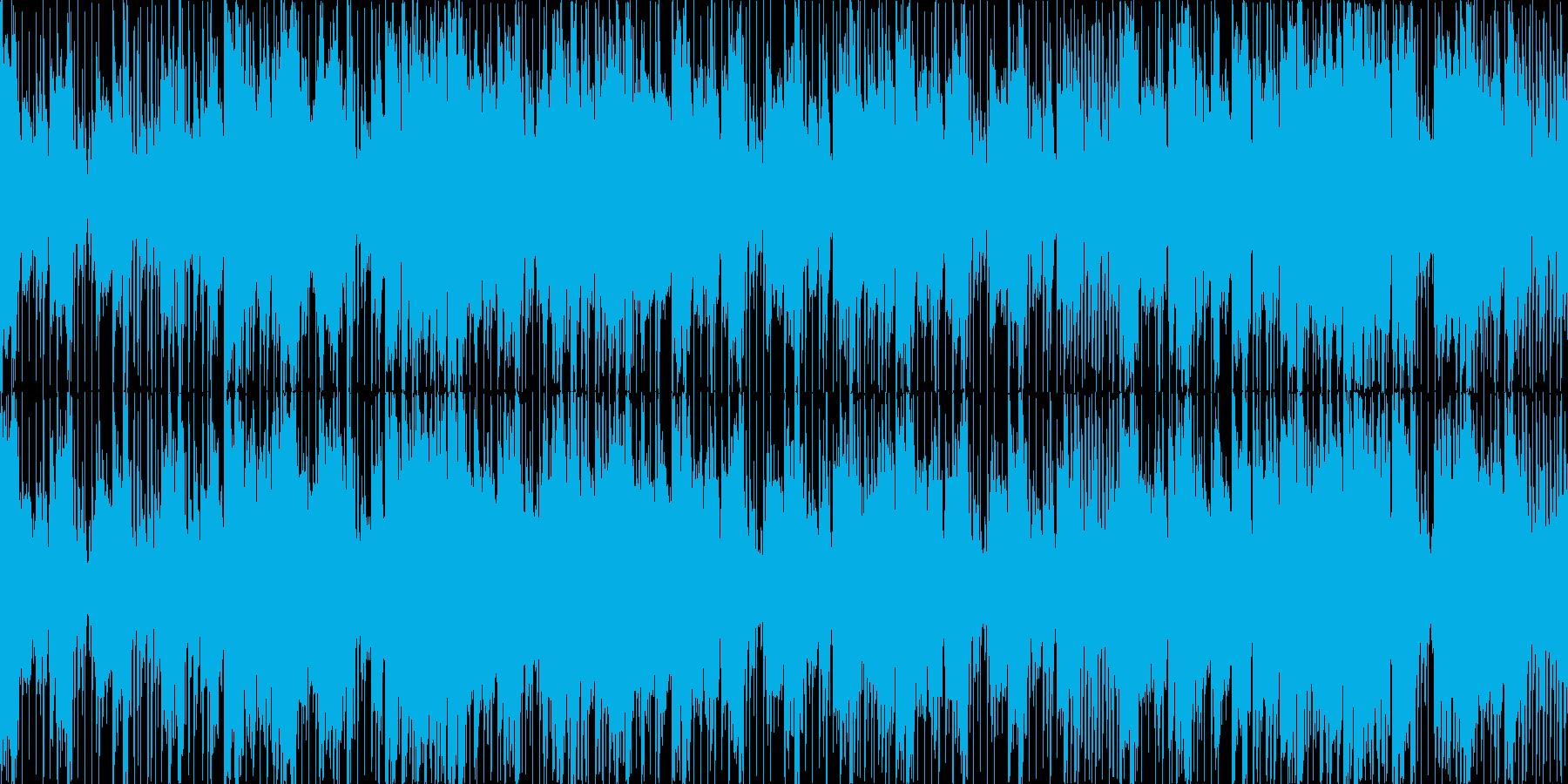 メニュー選択シーン_ファンクジャズ系の再生済みの波形