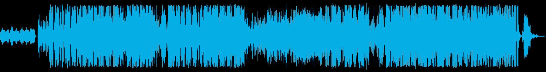 とても明るい曲です。の再生済みの波形