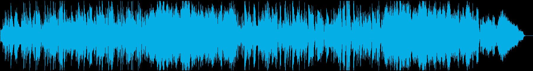 アンニュイで大人な雰囲気満載のBGMの再生済みの波形