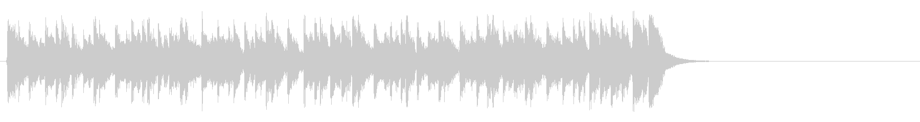 リラックスなフュージョン(サビ)の未再生の波形