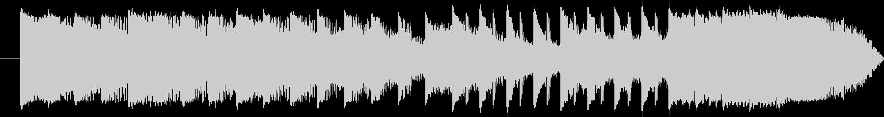 15秒 CM EDM スポット ライザーの未再生の波形