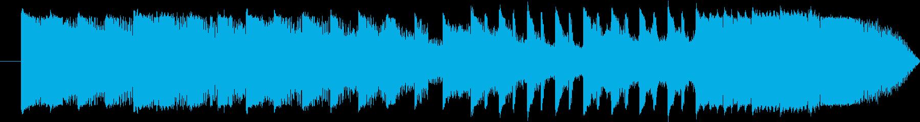 15秒 CM EDM スポット ライザーの再生済みの波形
