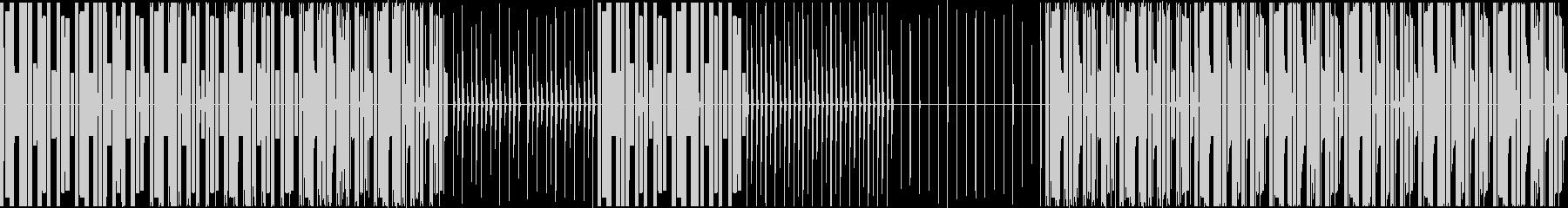 編集で使えるようにソロパート作りました。の未再生の波形