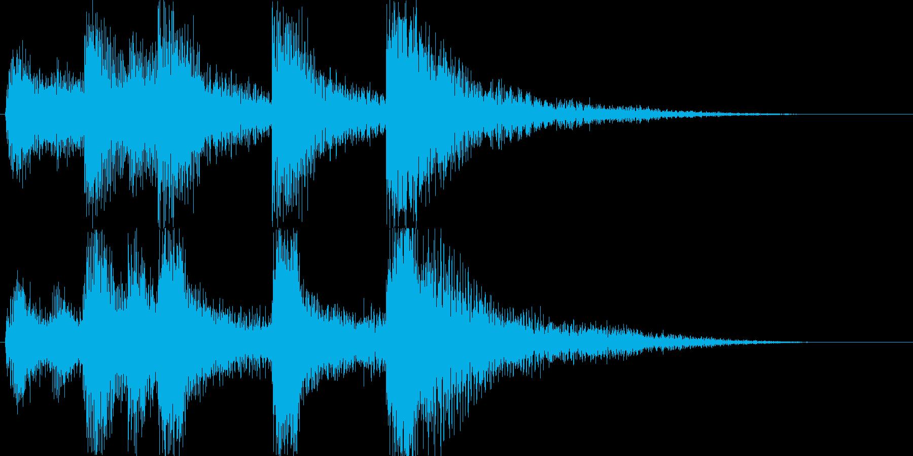 鎧騎士オーケストラ城ジングルアイキャッチの再生済みの波形