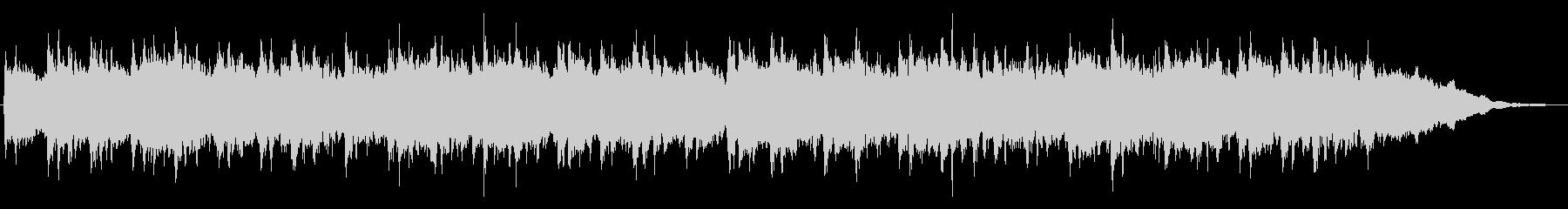 キラキラしたメルヘンチックなジングル7の未再生の波形