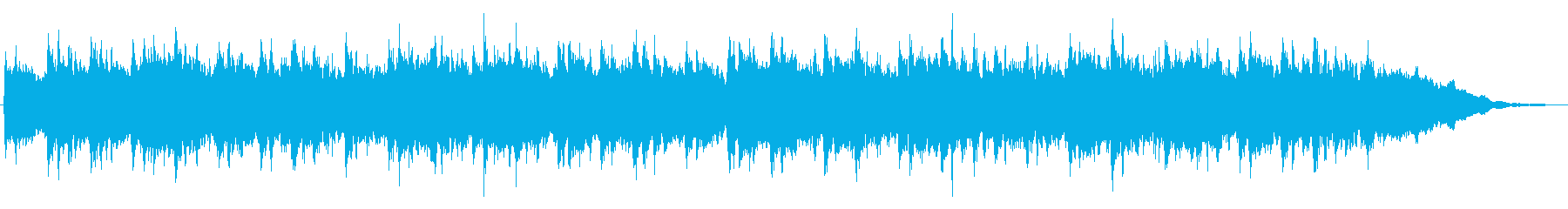 キラキラしたメルヘンチックなジングル7の再生済みの波形