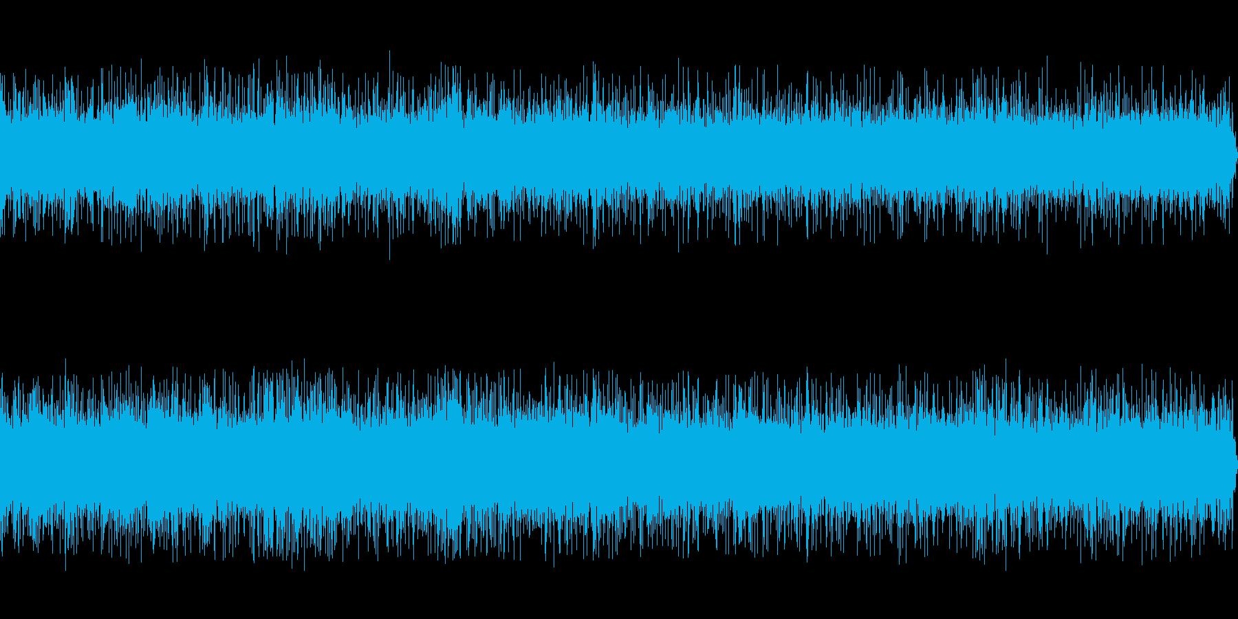 水流の洞窟の再生済みの波形