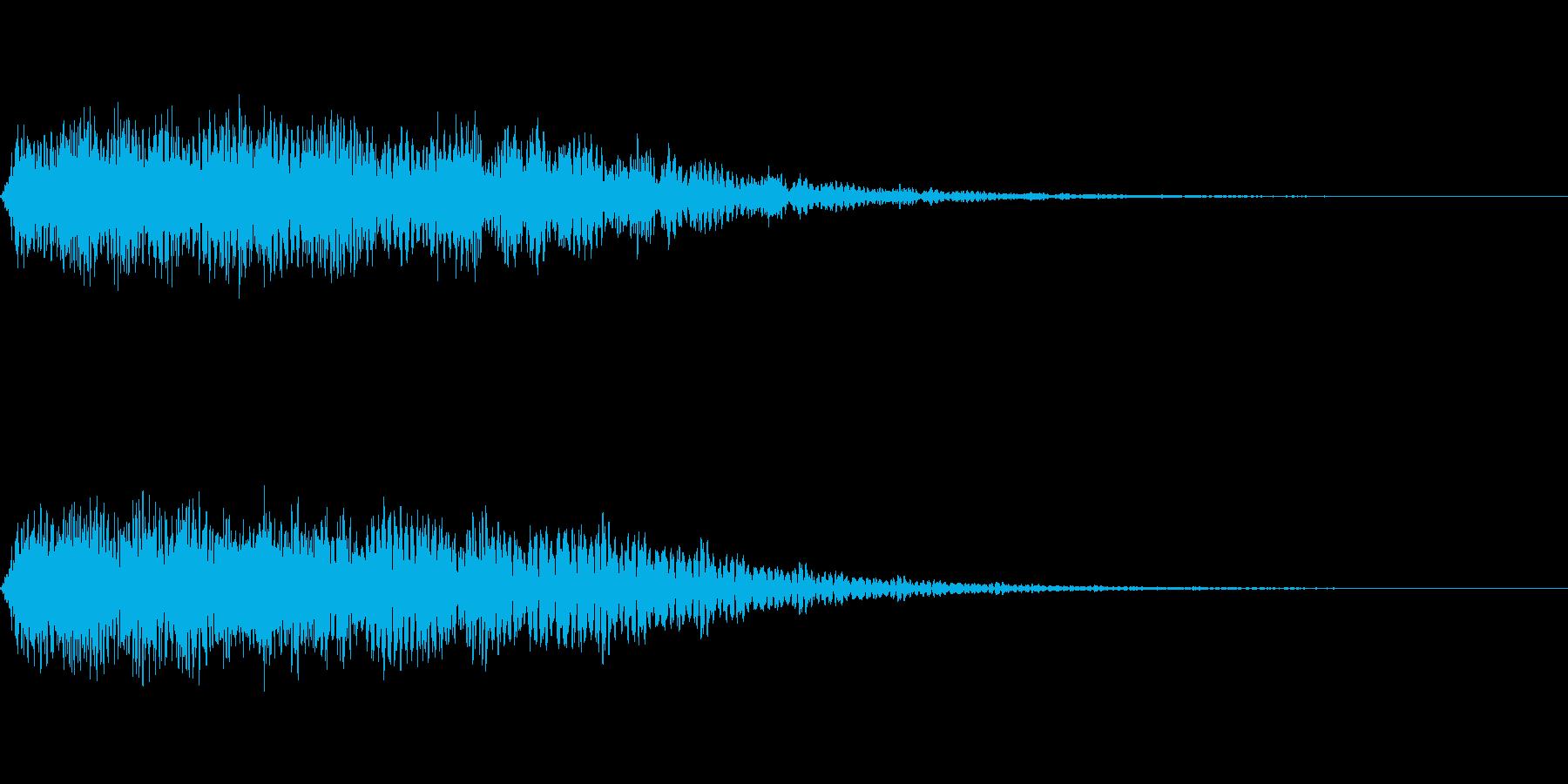 「ポイント」NHKプロフェッショナル風の再生済みの波形