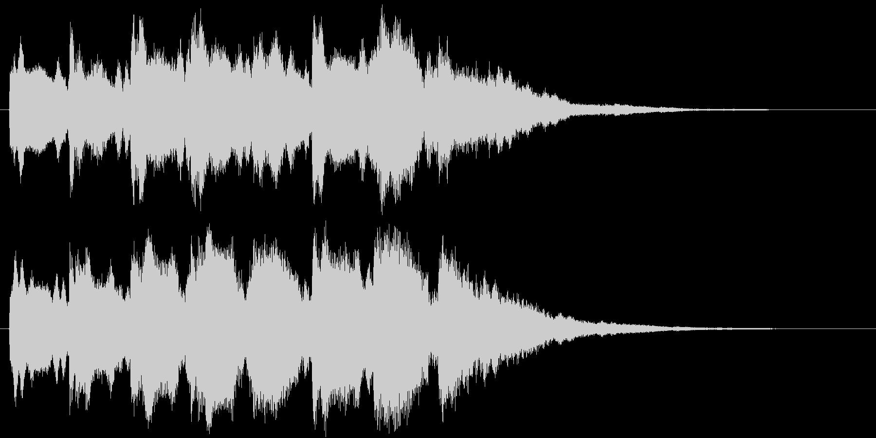 サウンドロゴ(ベル)の未再生の波形