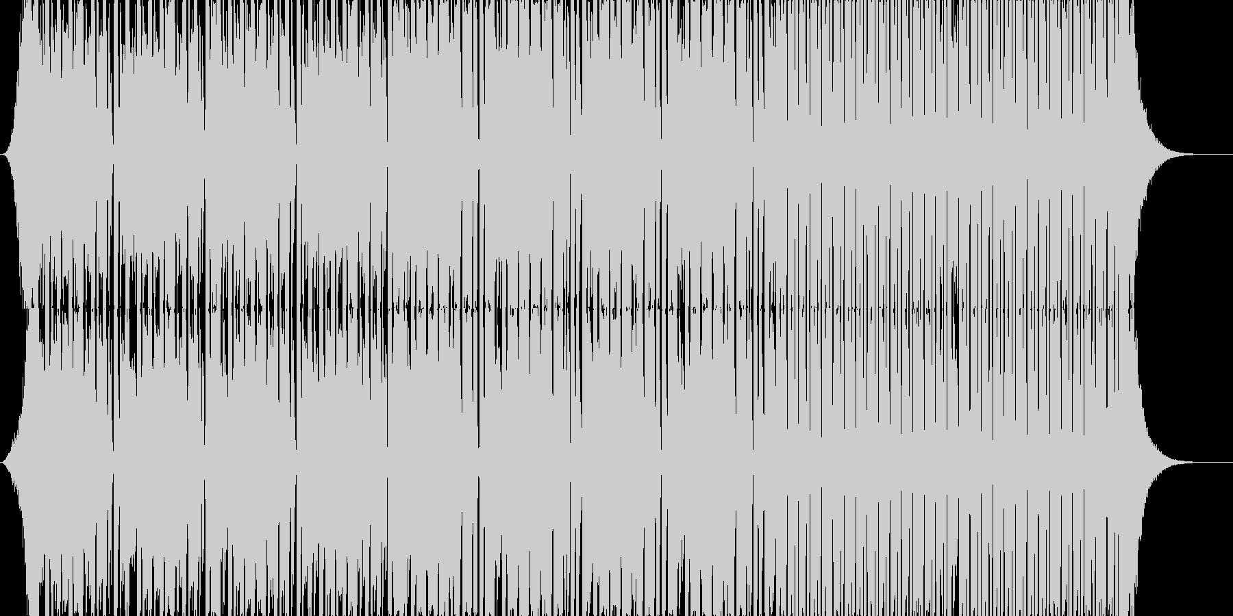 ノリノリでトリッキーなEDMの未再生の波形