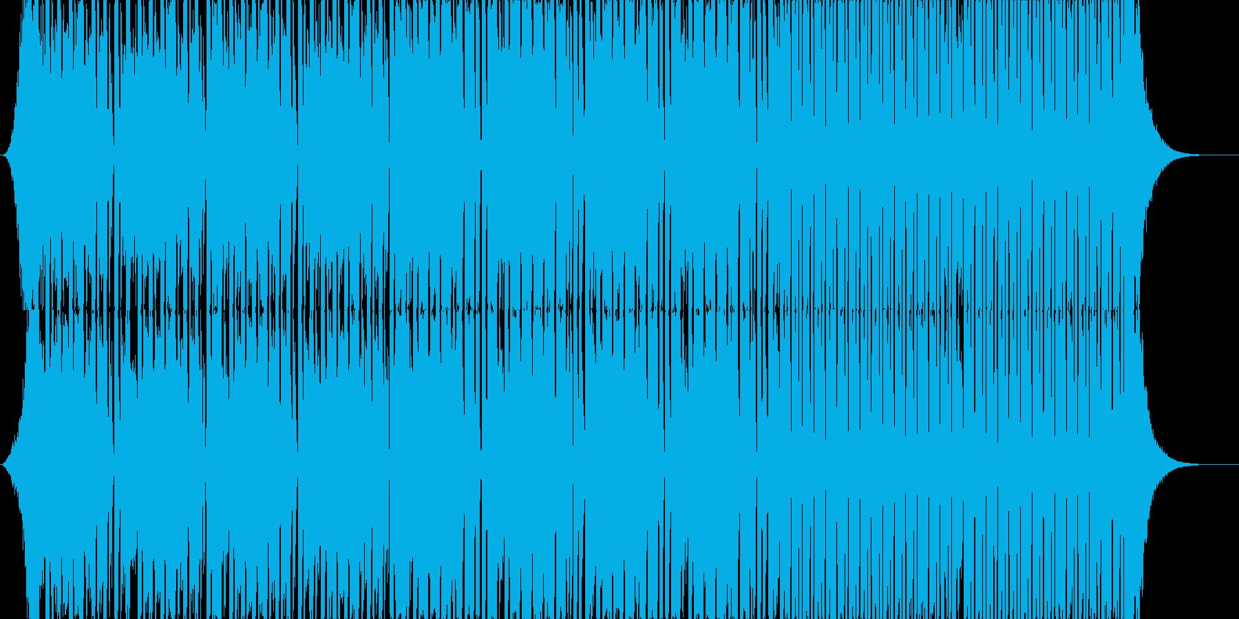 ノリノリでトリッキーなEDMの再生済みの波形