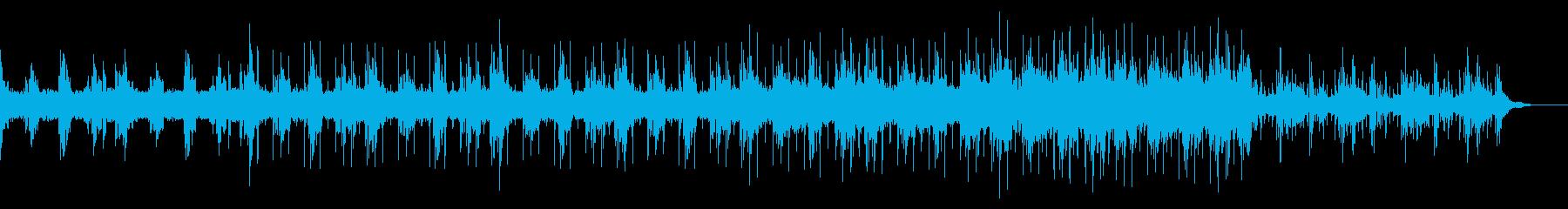 アンビエントなトラップ風エレクトロニカの再生済みの波形