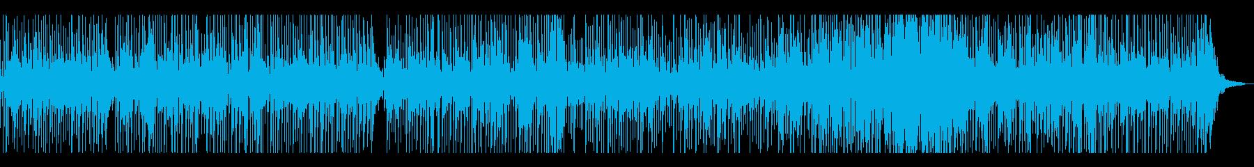 本格的生演奏のお洒落なクラブジャズの再生済みの波形