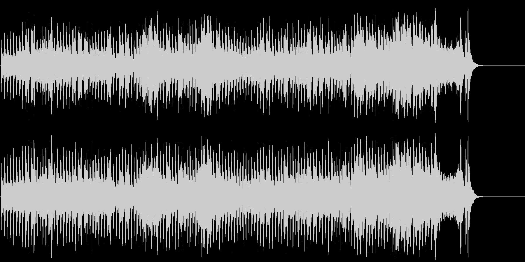 慌ただしいマイナー・クラシック/BGの未再生の波形