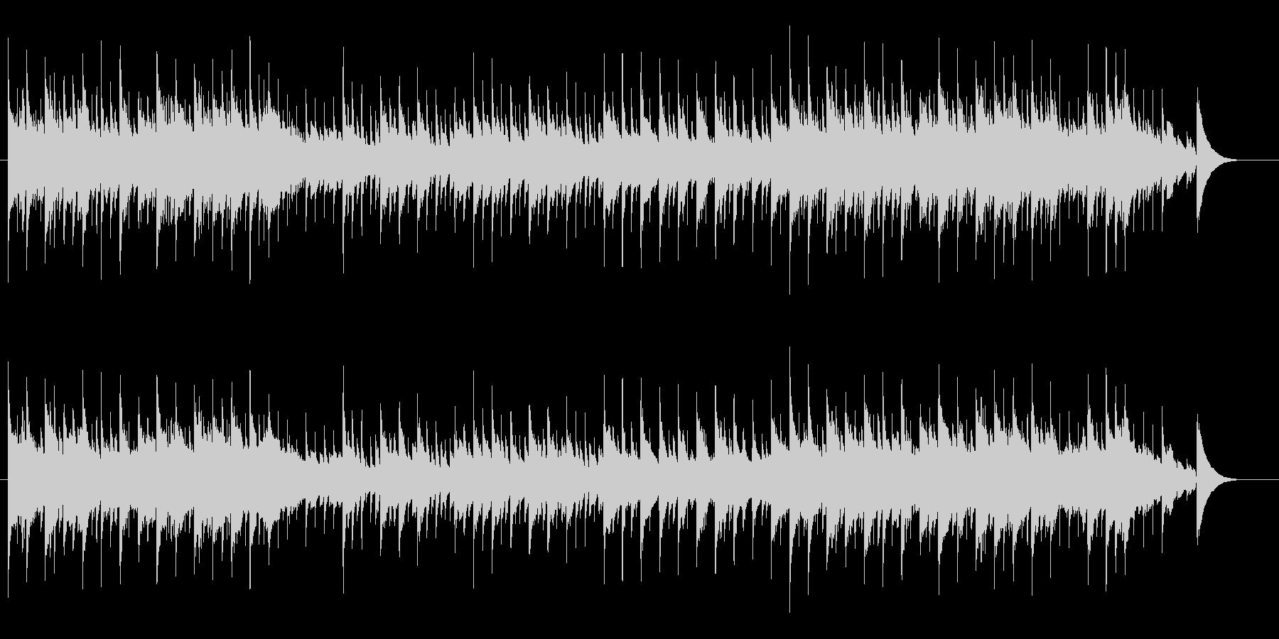 ピアノ・バラード/ヨーロピアン風の未再生の波形