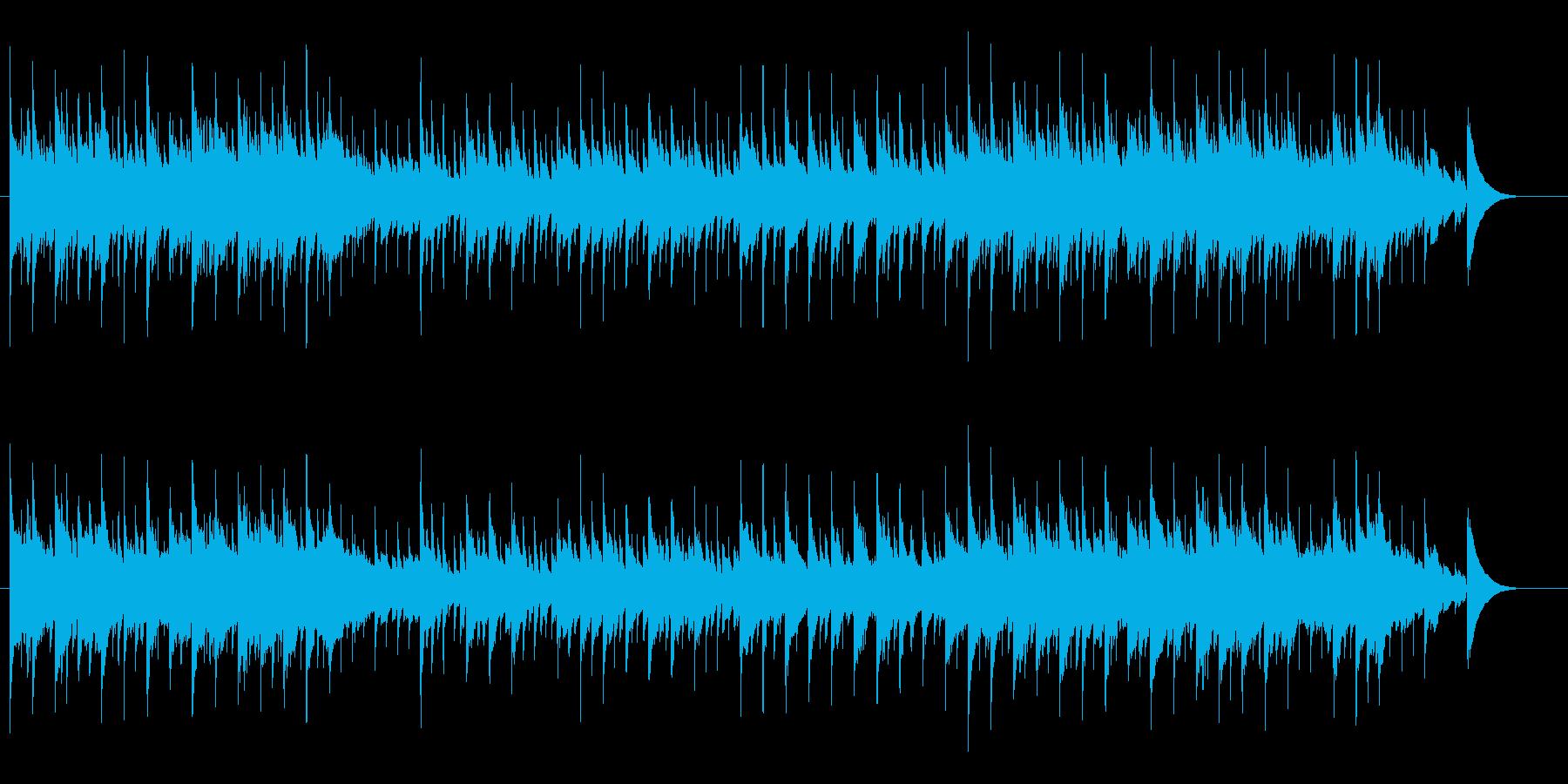 ピアノ・バラード/ヨーロピアン風の再生済みの波形