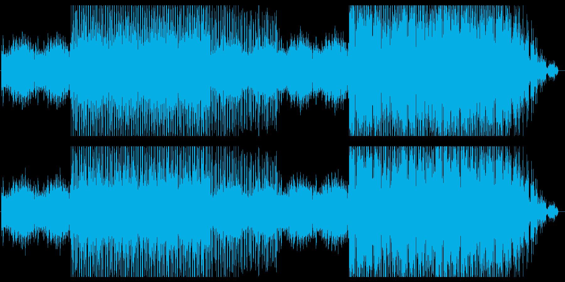 目覚めの朝に似合うポップEDMの再生済みの波形
