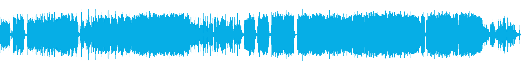 打ち込みEDM系の再生済みの波形