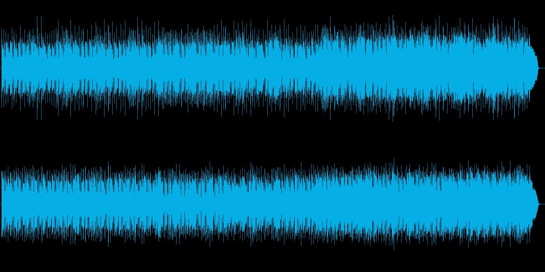 切なく哀しげなシンセ弦楽器サウンドの再生済みの波形