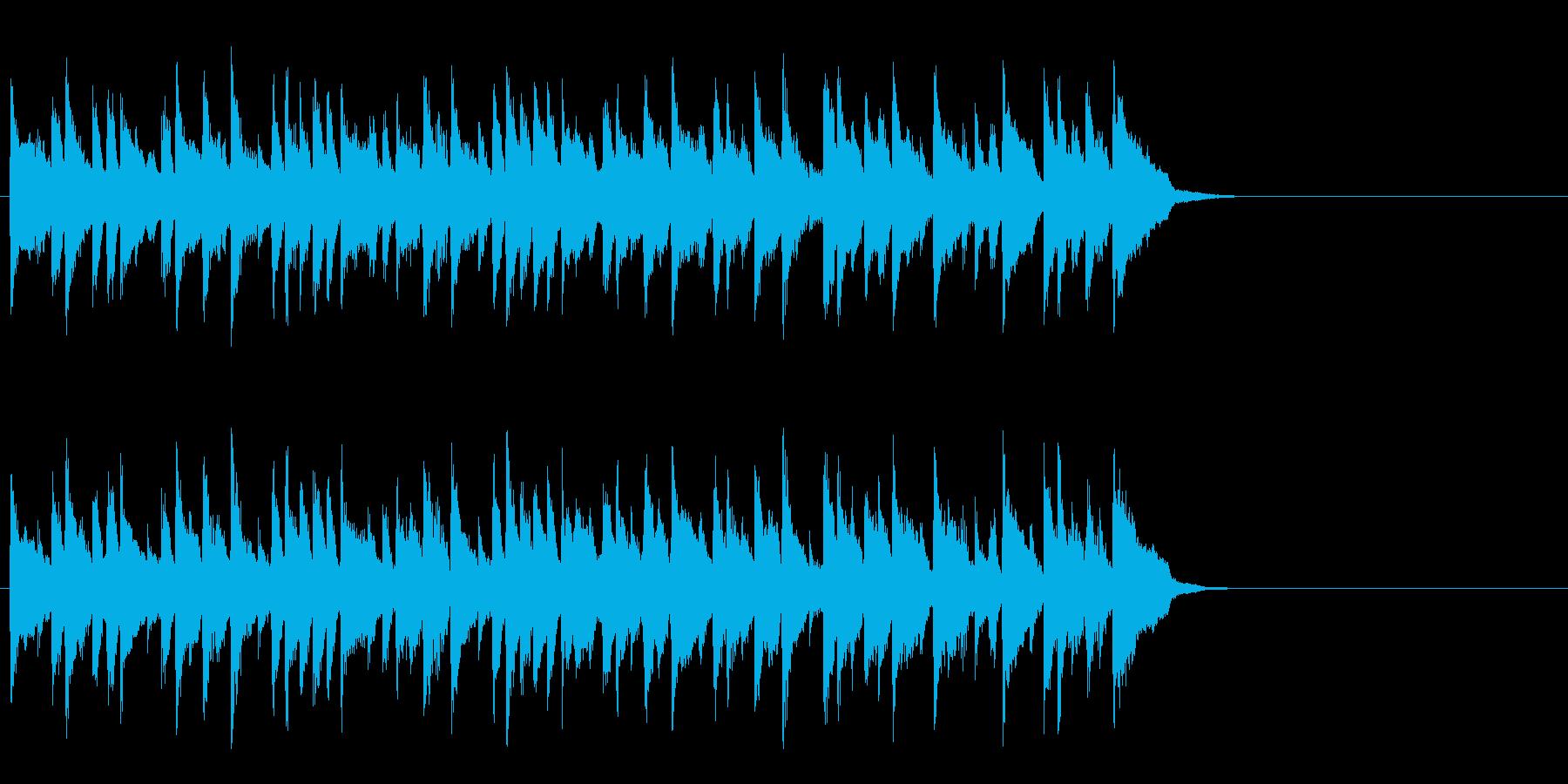安らぐソフトなポップ(Aメロ)の再生済みの波形
