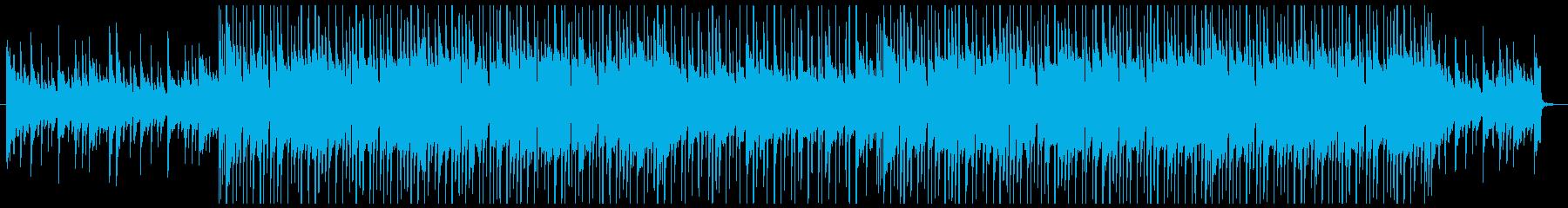 ピアノの旋律が切ないヒップホップの再生済みの波形