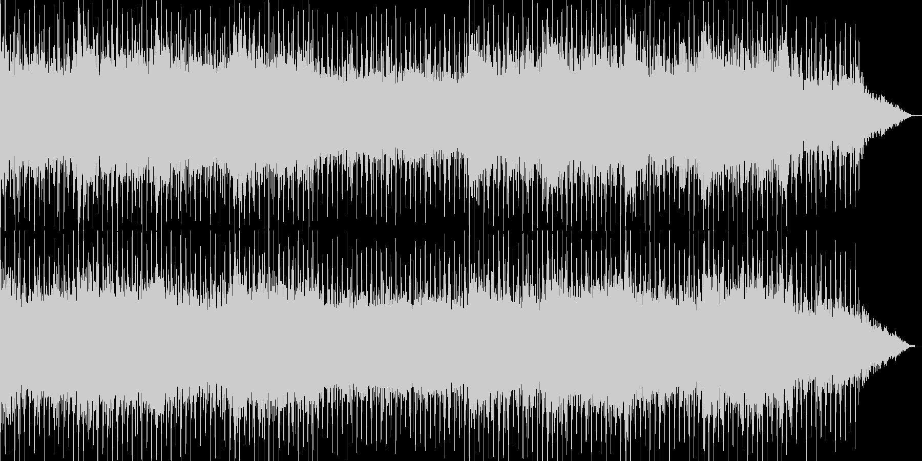 近未来SFサスペンス風シンセBGMの未再生の波形