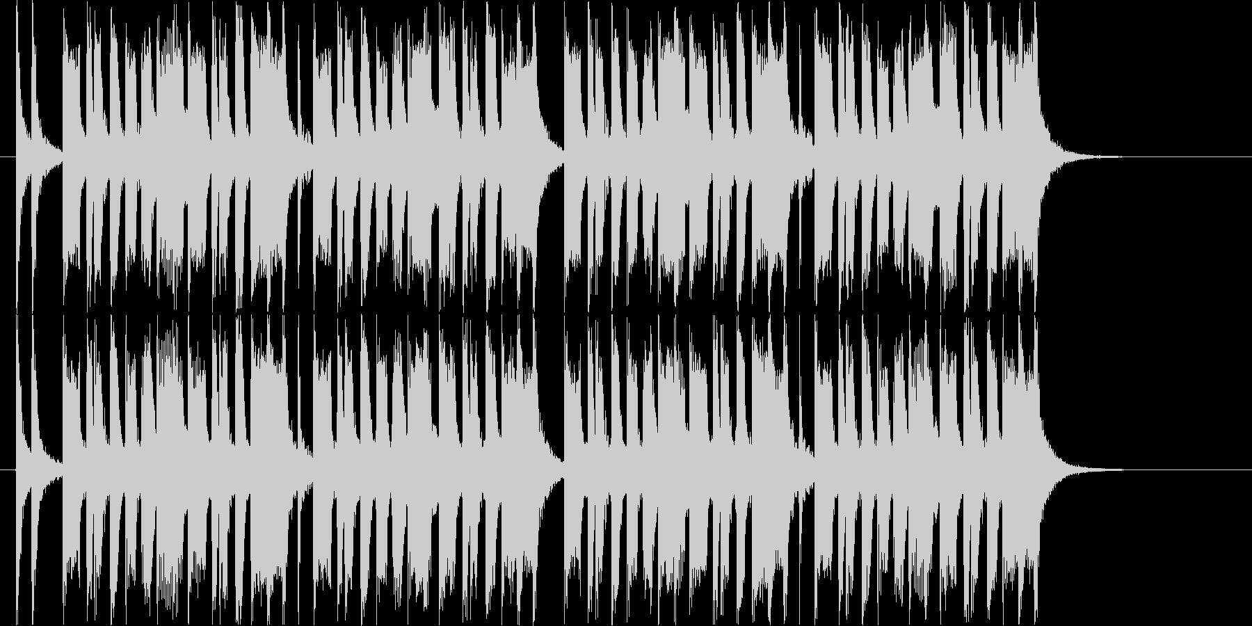 コミカルなトランペット ジングルの未再生の波形