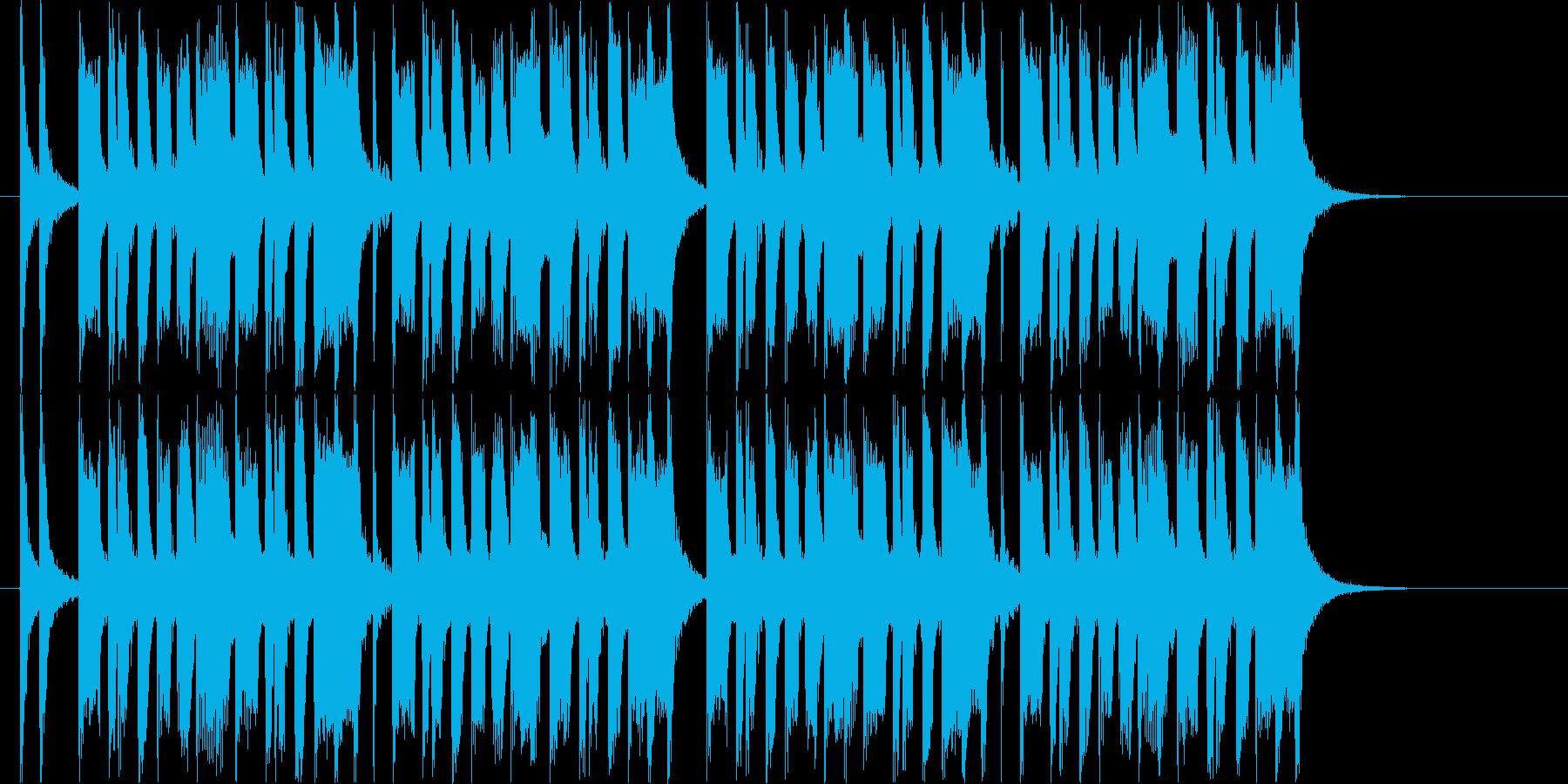 コミカルなトランペット ジングルの再生済みの波形