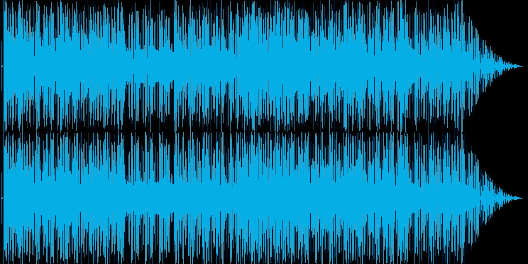 ポップで宇宙・未来を感じるおしゃれBGMの再生済みの波形